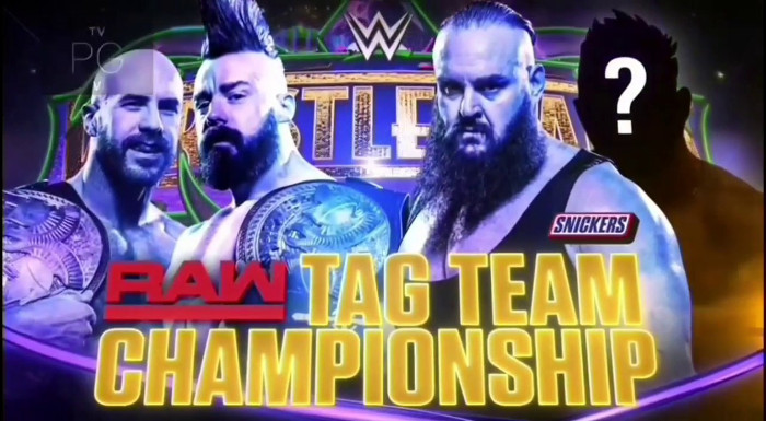 Image result for wrestlemania 34 raw tag team championship