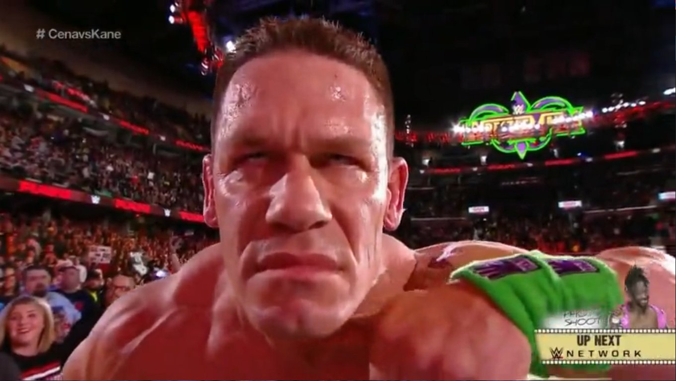 John Cena Continues To Bug Undertaker For A Wrestlemania Match