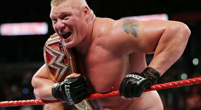 WWE Is Not Planning Brock Lesnar vs. Bobby Lashley Match