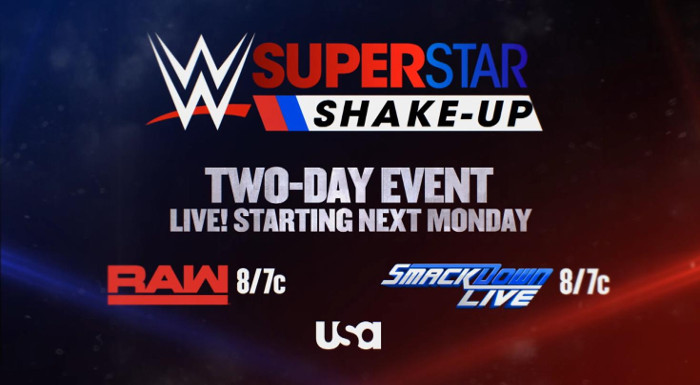 The WWE Superstar Shakeup is set