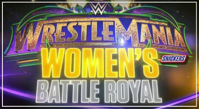 نتيجة بحث الصور عن women's battle royal wrestlemania