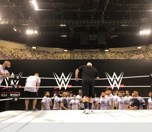 WWE Tryout