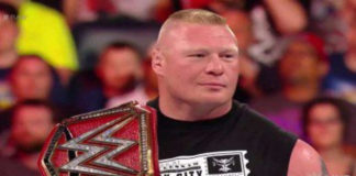 update brock lesnar's next title defense