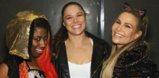 ronda rousey live event debut