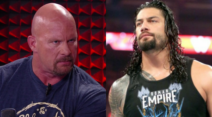 stone cold steve austin turn roman reigns heel