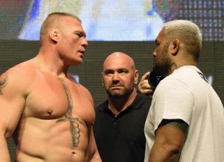Brock Lesnar, Dana White