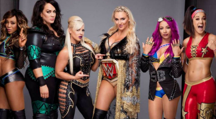 wwe all women's event