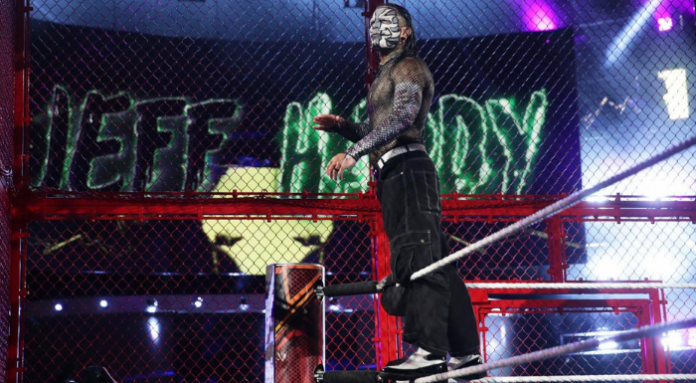 hell in a cell jeff hardy update