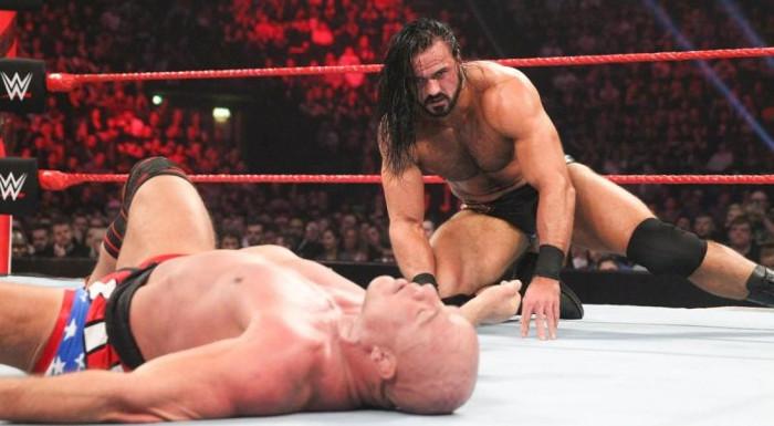 Kurt Angle Drew McIntyre