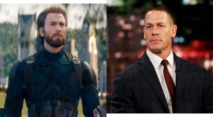 John Cena Chris Evans