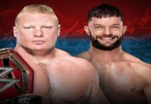 Brock Lesnar and Finn Balor
