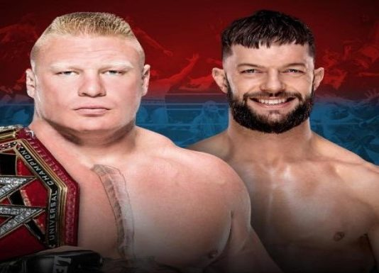 Brock Lesnar and Finn Balor