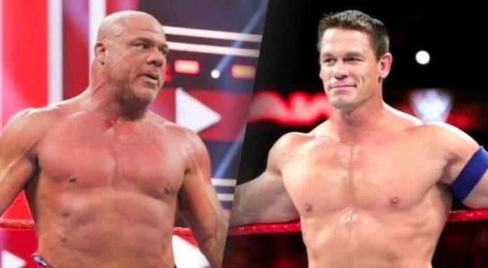 John Cena and Kurt Angle