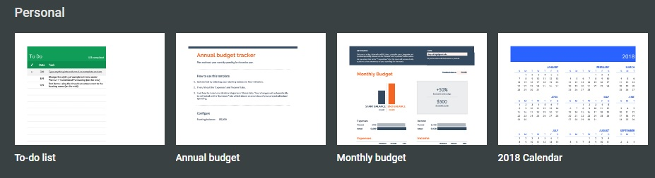Free Budgeting Templates
