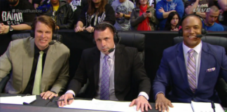 JBL, Michael Cole and Byron Saxton