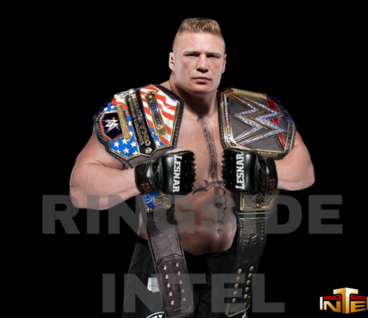 WWE Champion Brock Lesnar