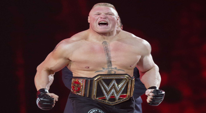 brock lesnar worst matches