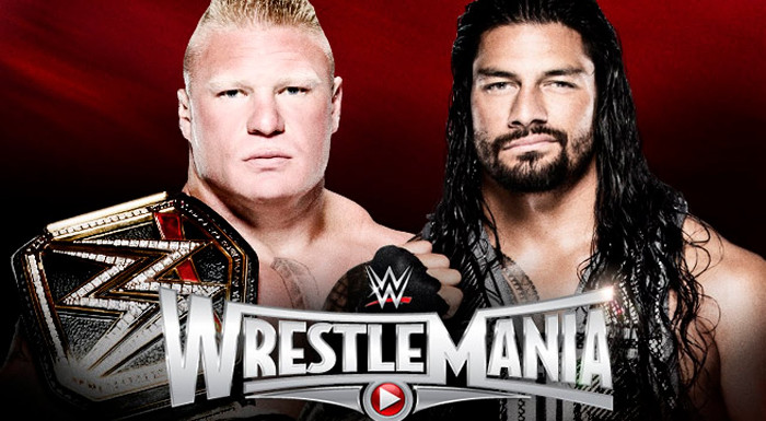 Brock Lesnar Vs Roman Reigns