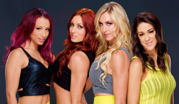 Sasha Banks, Becky Lynch, Charlotte, Bayley