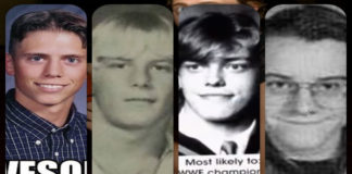 wwe superstars in high school