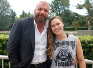 Ronday Rousey triple h
