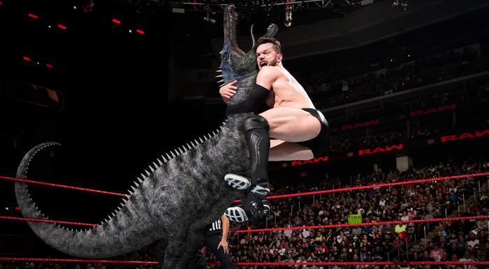 wwe dinosaur