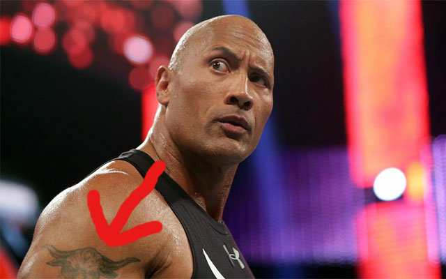The Rock Changed His Iconic Brahma Bull Tattoo