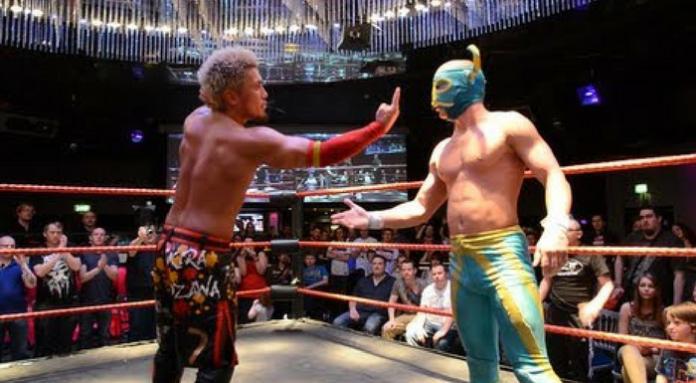 akira tozawa vs el ligero preston city wrestling