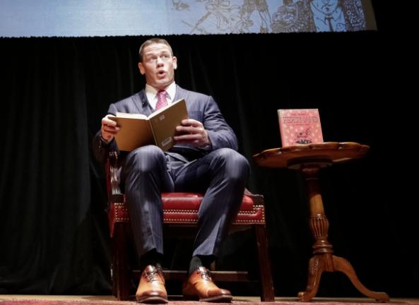 John Cena o tematyce swojej książki 'Elbow Grease', podgląd kilku stron