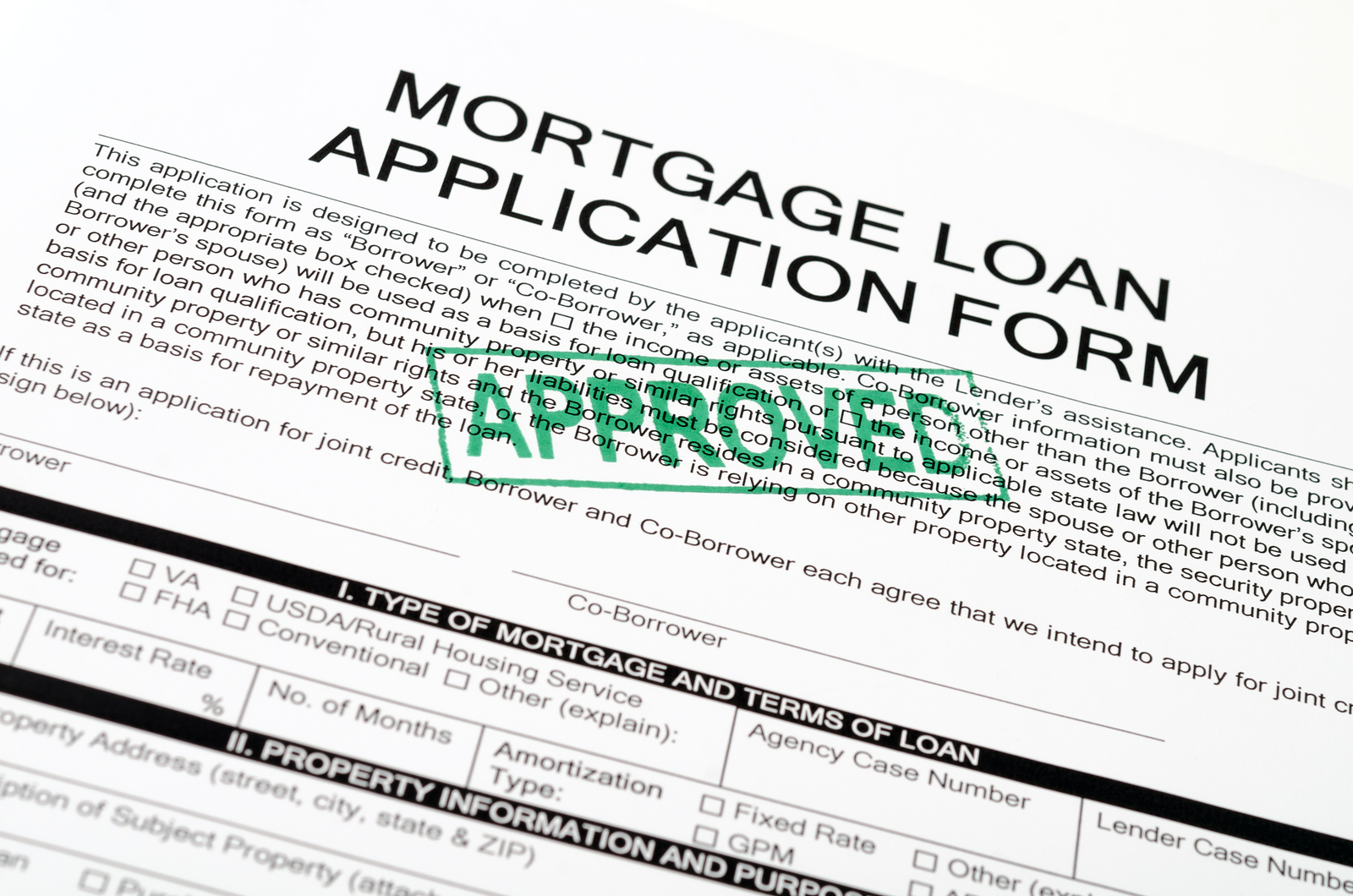 Mortgage Loans For First Time Buyers