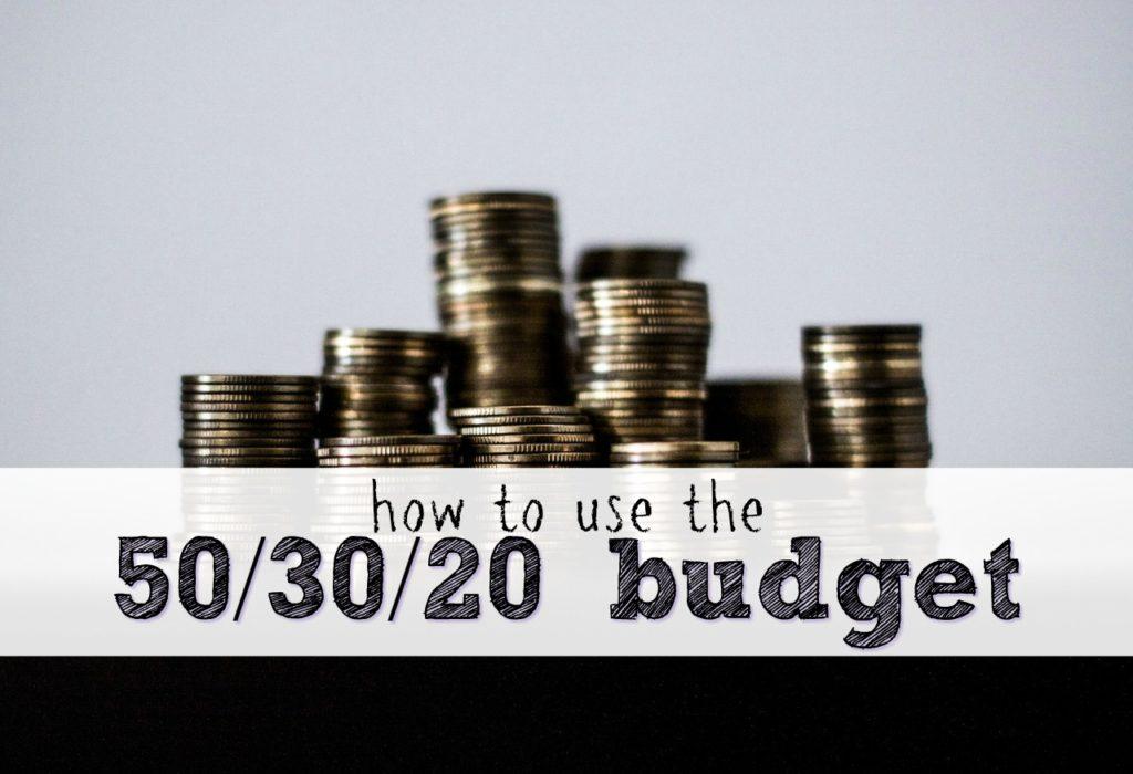 50-30-20 budget method