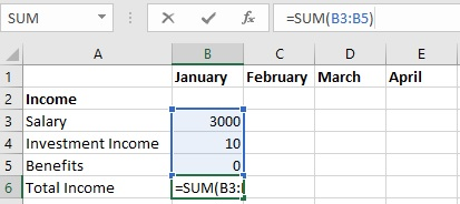 Create Template for Excel